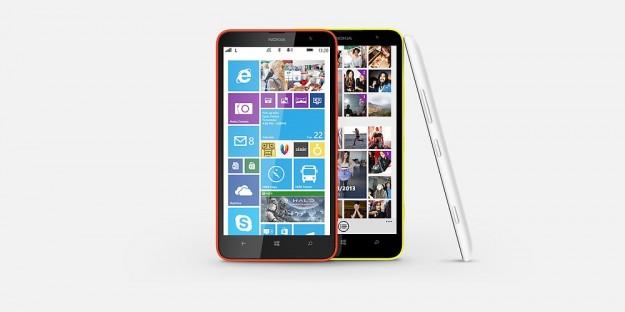 Nokia Lumia 1320 bianco giallo rosso