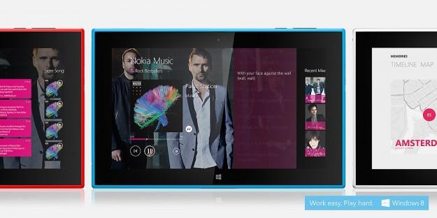 Nokia Lumia 2520 musica