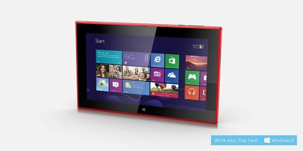 Nokia Lumia 2520 rosso