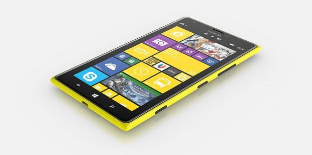 Nokia Lumia 1520 giallo