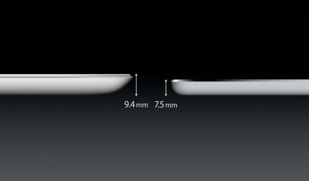 iPad Air spessore