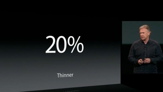 iPad Air spessore ridotto