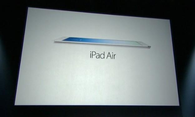 iPad Air ufficiale
