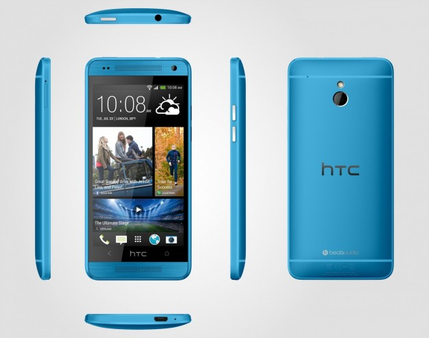 HTC One Vivid Blue scocca