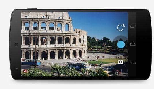 Nexus 5 schermo
