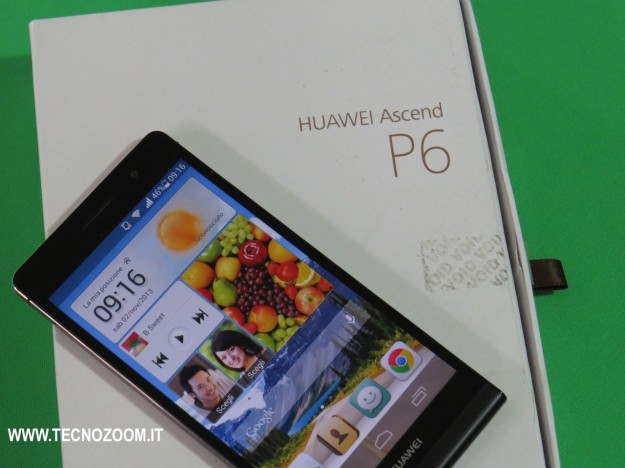Huawei Ascend P6 test