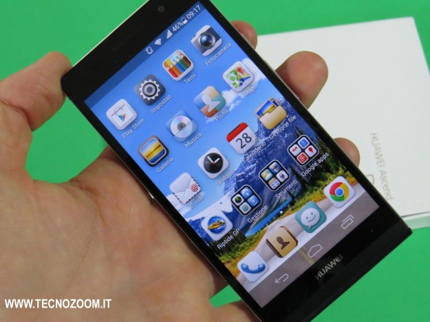 Huawei Ascend P6 hands-on
