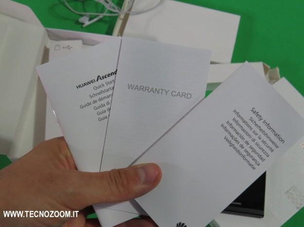 Huawei Ascend P6 manuali