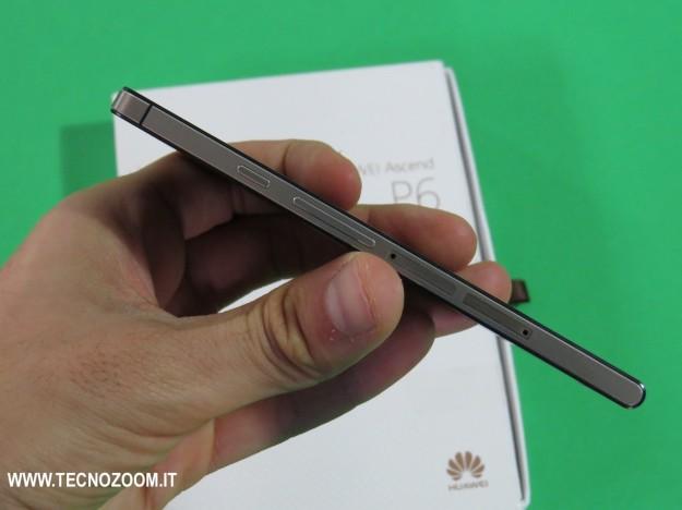Huawei Ascend P6 spessore