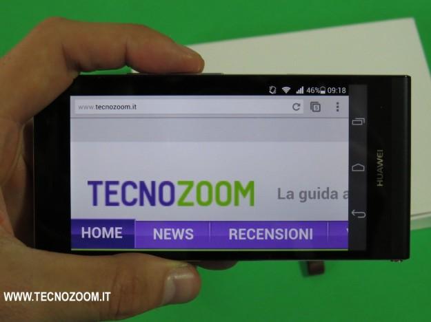 Huawei Ascend P6 tecnozoom logo