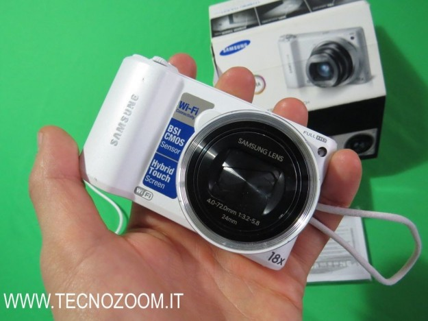 Samsung WB250F hands-on