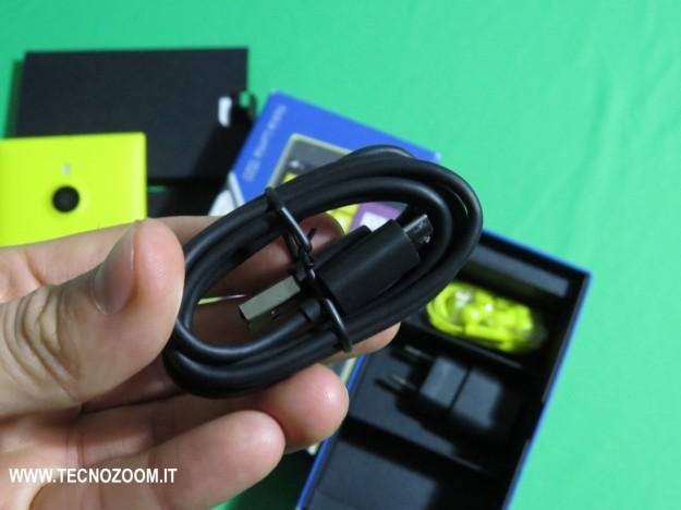 Nokia Lumia 1520 cavo USB