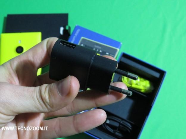 Nokia Lumia 1520 presa corrente