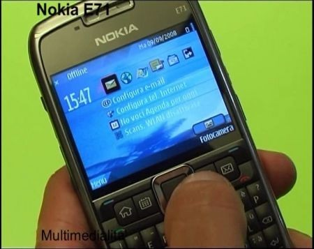 nokia e71 multimedialita'
