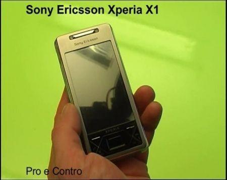 Prova Sony Ericsson Xperia X1