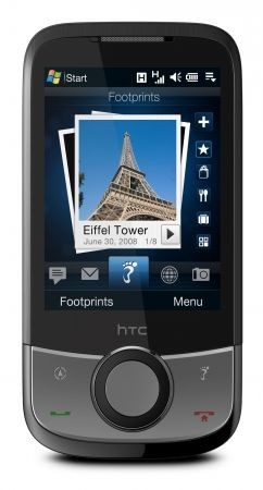 HTC Touch Cruise: da HTC uno smartphone con GPS e FootPrints