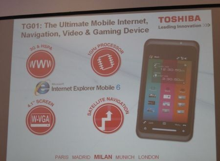 Toshiba G1 7