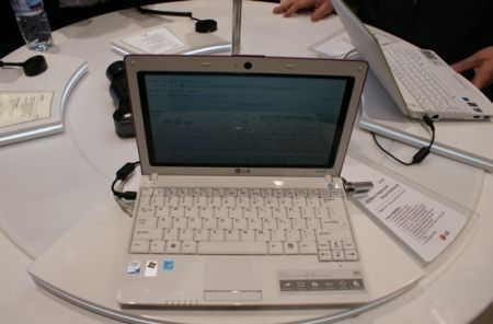 LG X120 netbook anteprima