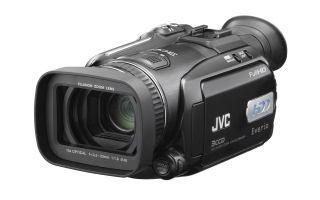 JVC GZ HD7