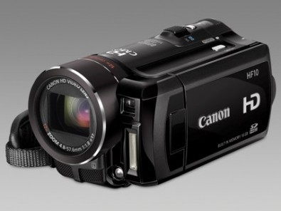 videocamere Canon HF10 e HF100