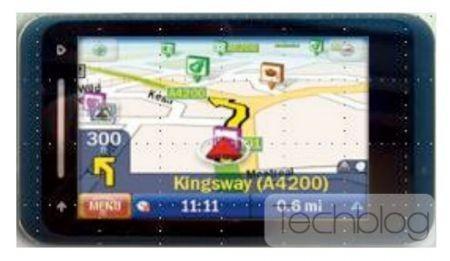 Dettaglio schermo Toshiba TG02