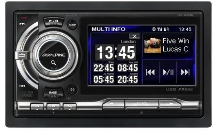 Alpine iXA-W404R Digital Media Station schermata princi
