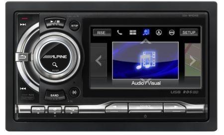 Alpine iXA-W404R Digital Media Station schermata opzion