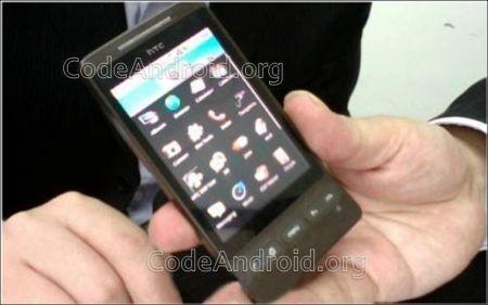 Il menu dell'HTC Hero
