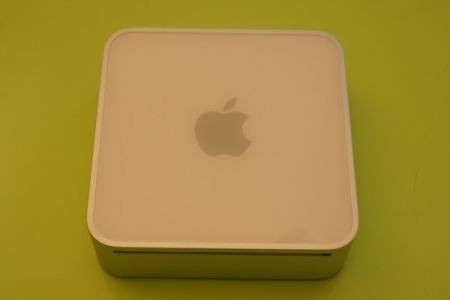Apple Mac Mini visto dall'alto