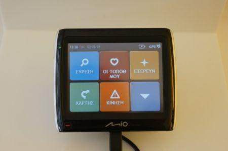 Mio Moov Spirit GPS serie