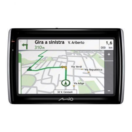 Mio Moov Spirit GPS 500 nella mappa