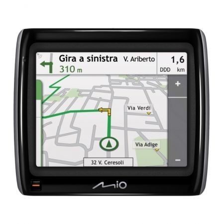 Mio Moov Spirit GPS 300 mappa in funzione