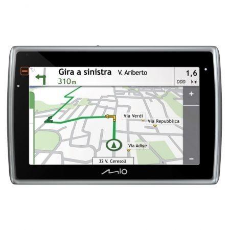 Mio Moov Spirit GPS Flat mappa