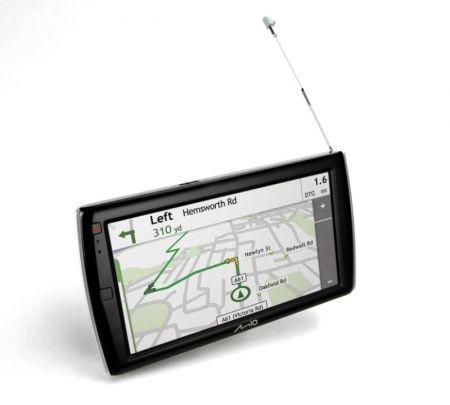 Mio Moov Spirit GPS 735 TV dettaglio mappa