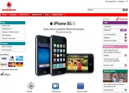 iPhone 3GS: differenze tra Tim e Vodafone
