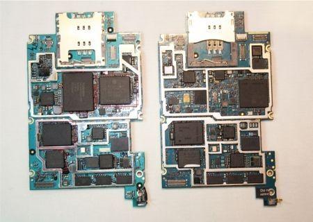 tutti i chipset della scheda del iPhone 3GS