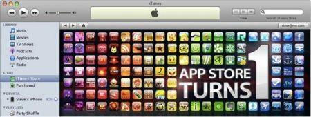 App Store di Apple compie un anno