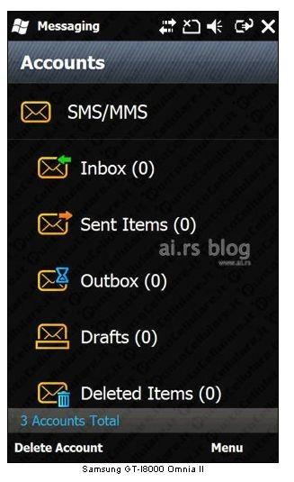 schermata posta
