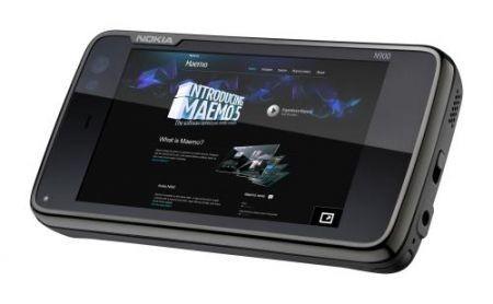 Nokia N900 con interfaccia maemo 5