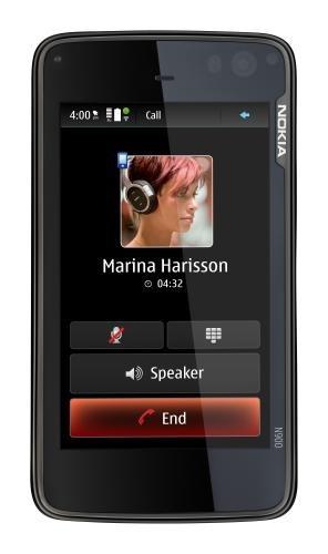 Nokia N900 in verticale