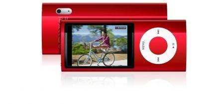iPod Nano 5G colore rosso con visione videocamera