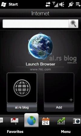 HTC Touch HD2 LEO e la sua navigazione
