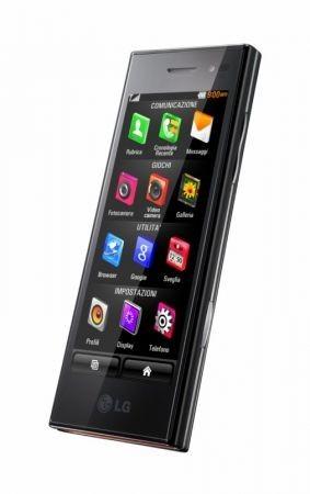 LG New Chocolate BL40 particolare schermo