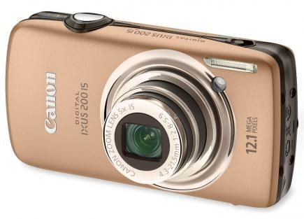 Canon Digital IXUS 200 IS: compatta digitale con schermo touchscreen come idea natale