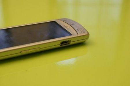 particolare usb Vodafone 360 Samsung H1: prime impressi
