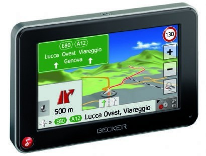 Becker Traffic Assist Z 112 e Z 116: navigatori GPS portatili con funzioni avanzate