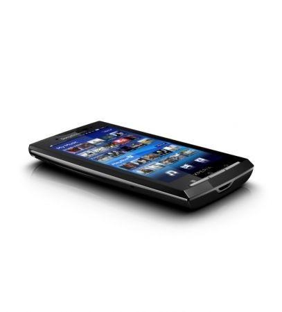 Sony Ericsson Xperia X10 visto di taglio