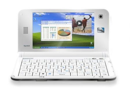 Sagemcom SPIGA aperto con desktop windowes xp