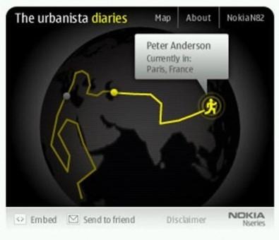Nokia N82 urbanistic diarioViaggio L 21 3
