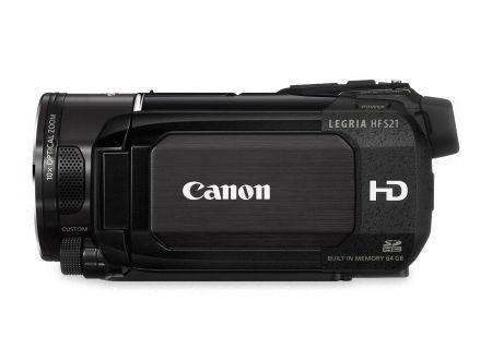 Canon LEGRIA HF S20 e HF S21: videocamere Full HD con interfaccia Touchscreen e controlli creativi